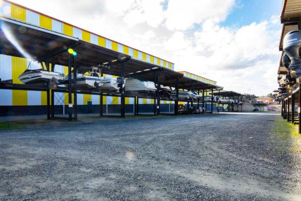 Dry Storage, Pleasure Cove Marina